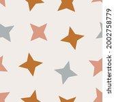 trendy seamless vector pattern. ... | Shutterstock .eps vector #2002758779