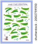 logic puzzle game for children... | Shutterstock .eps vector #2002759550