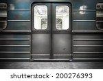 old train door | Shutterstock . vector #200276393