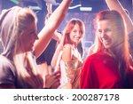 party people  | Shutterstock . vector #200287178