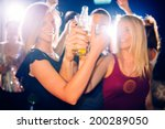 party people toasting | Shutterstock . vector #200289050