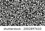 flower pattern. seamless white... | Shutterstock .eps vector #2002897610