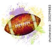 football | Shutterstock .eps vector #200299883