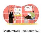 big data analysis web character ... | Shutterstock .eps vector #2003004263