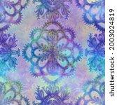 seamless iridescent rainbow... | Shutterstock . vector #2003024819