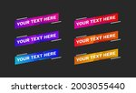Lower Thirds Pack With Modern...
