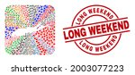 vector mosaic long island map...   Shutterstock .eps vector #2003077223