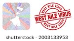 vector mosaic west bengal state ...   Shutterstock .eps vector #2003133953