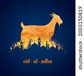 illustration of sheep wishing... | Shutterstock .eps vector #2003150819