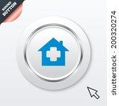 medical hospital sign icon....