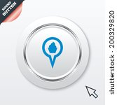 map pointer food sign icon....