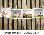 enjoying the life together... | Shutterstock . vector #200329874