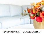 Floral Arrangement Of Roses...