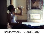 people  substance abuse and... | Shutterstock . vector #200332589