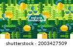 nature and landscape. vector... | Shutterstock .eps vector #2003427509