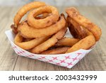 side order of onion rings are...