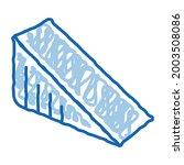 triangular piece of cheese... | Shutterstock .eps vector #2003508086