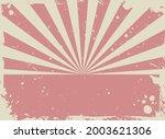 sunlight retro grunge...   Shutterstock .eps vector #2003621306