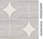 trendy minimalist seamless... | Shutterstock .eps vector #2003651849