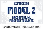 abstract geometric original... | Shutterstock .eps vector #2003684486