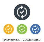 update  upgrade  reload process ... | Shutterstock .eps vector #2003848850