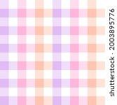 gingham pattern in gradient... | Shutterstock .eps vector #2003895776