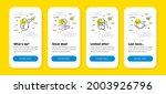 vector set of flight mode  loan ...   Shutterstock .eps vector #2003926796