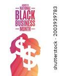 august is national black... | Shutterstock .eps vector #2003939783