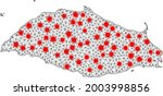 carcass polygonal map of isla...   Shutterstock .eps vector #2003998856