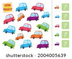 count how many cars are on the... | Shutterstock .eps vector #2004005639