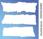 scrap paper. torn pieces of...   Shutterstock .eps vector #2004033080