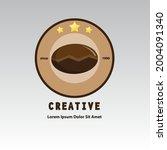 coffee company logo in vintage...   Shutterstock .eps vector #2004091340