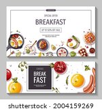 set of promo banners for... | Shutterstock .eps vector #2004159269