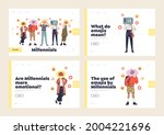 millennials and emoji sharing... | Shutterstock .eps vector #2004221696