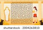 treasure hunting underground... | Shutterstock .eps vector #2004263810