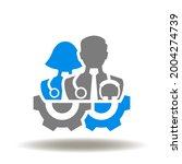 doctor and nurse medical...   Shutterstock .eps vector #2004274739