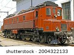 Old Train Engine Railroad Track ...