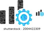 triangle bar chart settings...   Shutterstock .eps vector #2004422309