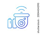 wireless outdoor security... | Shutterstock .eps vector #2004434390