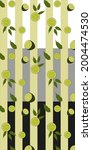 citrus vector pattern on a... | Shutterstock .eps vector #2004474530