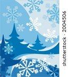 winter background series. | Shutterstock .eps vector #2004506