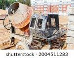 Industrial Concrete Mixer At A...