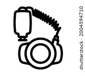 icon of portable circle macro... | Shutterstock .eps vector #2004594710