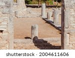 ancient ruins of palaestra in...   Shutterstock . vector #2004611606