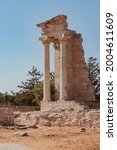 temple of apollo ruins with...   Shutterstock . vector #2004611609