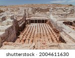 the ancient thermal bath ruins...   Shutterstock . vector #2004611630