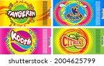 soda label designs for... | Shutterstock .eps vector #2004625799