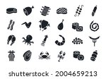 meat products fish poultry...   Shutterstock .eps vector #2004659213