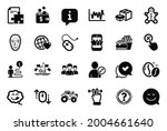 vector set of business icons... | Shutterstock .eps vector #2004661640