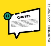 typography design quote chat...   Shutterstock .eps vector #2004750476